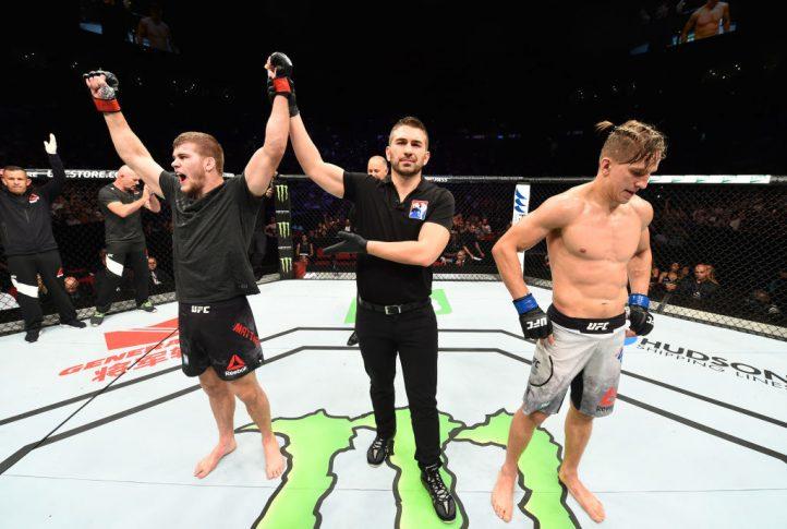 UFCファイトナイト・シドニー:ジェイク・マシューズ vs. ボヤン・ベリチコビッチ【オーストラリア・シドニー/2017年11月19日(Photo by Josh Hedges/Zuffa LLC/Zuffa LLC via Getty Images)】
