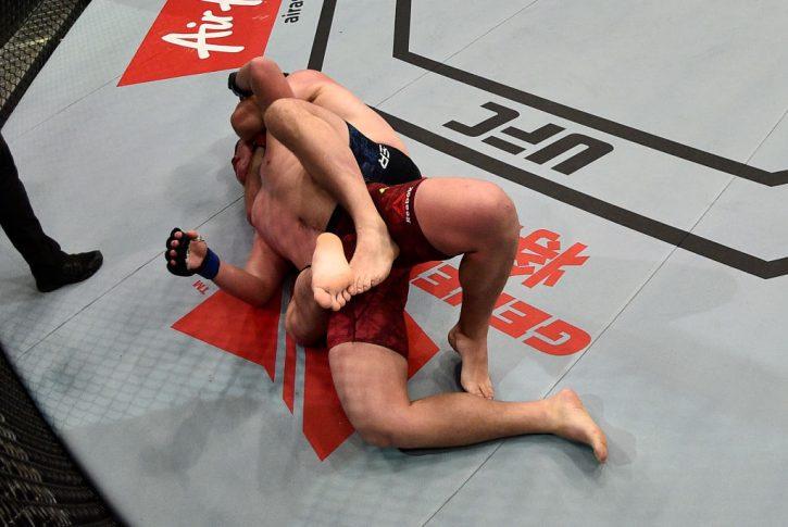 UFCファイトナイト上海:シリル・アスカー vs. フー・ヤオゾン【中国・上海/2017年11月25日(Photo by Brandon Magnus/Zuffa LLC via Getty Images)】