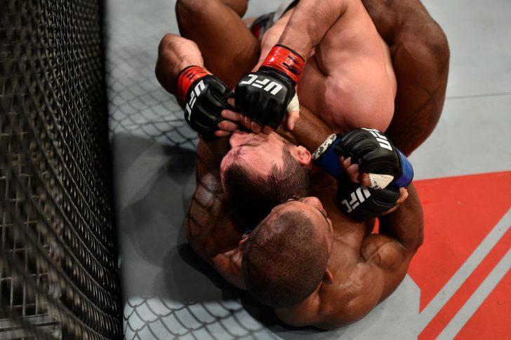 UFCファイトナイト上海:ムスリム・サリコフ vs. アレックス・ガルシア【中国・上海/2017年11月25日(Photo by Brandon Magnus/Zuffa LLC via Getty Images)】
