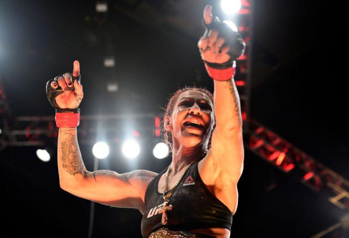 UFC 219:クリスチャン・サイボーグ vs. ホリー・ホルム【アメリカ・ネバダ州ラスベガス/2017年12月30日(Photo by Brandon Magnus/Zuffa LLC/Zuffa LLC via Getty Images)】