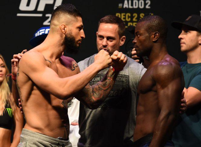 UFC 218:フェイスオフに臨んだ...