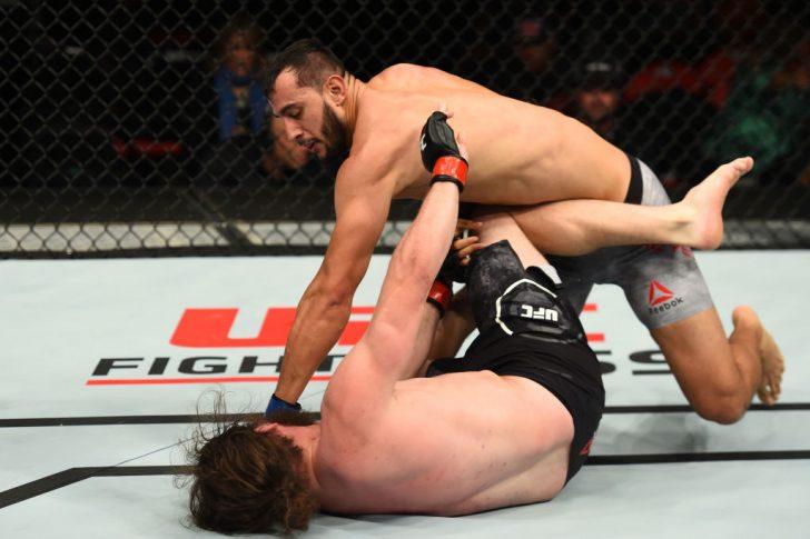 UFC 218:ジェレミー・キンボール vs. ドミニク・レイエス【アメリカ・ミシガン州デトロイト/2017年12月2日(Photo by Josh Hedges/Zuffa LLC/Zuffa LLC via Getty Images)】