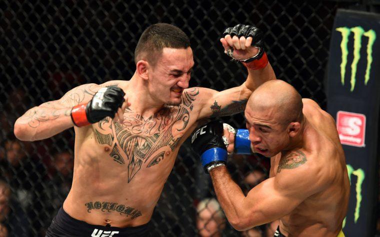 UFC 218:マックス・ホロウェイ vs. ジョゼ・アルド【アメリカ・ミシガン州デトロイト/2017年12月2日(Photo by Josh Hedges/Zuffa LLC/Zuffa LLC via Getty Images)】