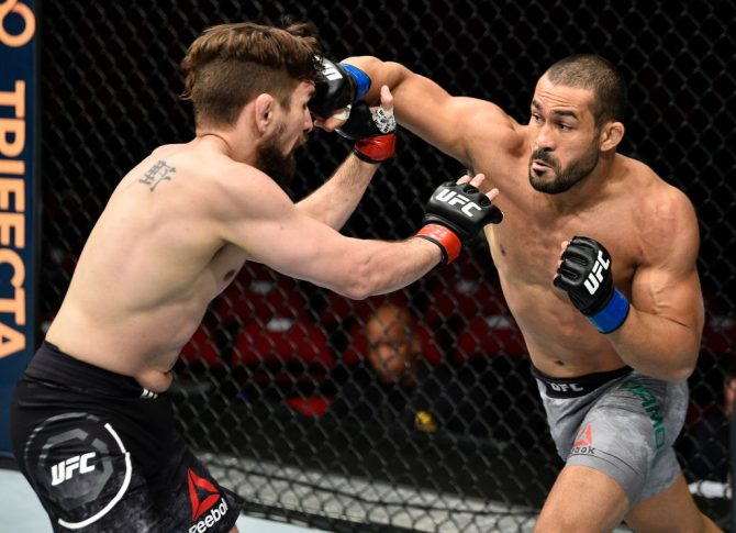 UFCファイトナイト・フレズノ:クリス・グレッツェマーカー vs. ダヴィ・ラモス【カリフォルニア州フレズノ・アメリカ/2017年12月9日(Photo by Jeff Bottari/Zuffa LLC/Zuffa LLC via Getty Images)】