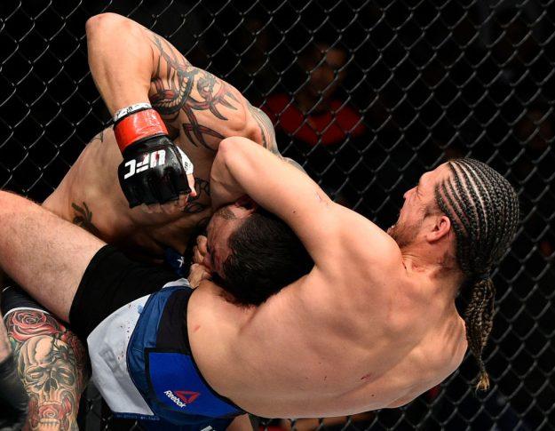 UFCファイトナイト・フレズノ:カブ・スワンソン vs. ブライアン・オルテガ【カリフォルニア州フレズノ・アメリカ/2017年12月9日(Photo by Jeff Bottari/Zuffa LLC/Zuffa LLC via Getty Images)】