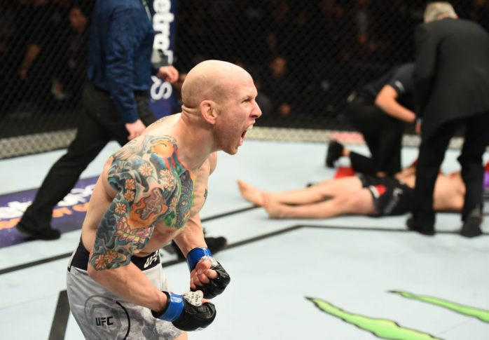 UFCファイトナイト・ウィニペグ:リカルド・ラマス vs. ジョシュ・エメット【カナダ・ウィニペグ/2017年12月16日(Photo by Josh Hedges/Zuffa LLC/Zuffa LLC via Getty Images)】