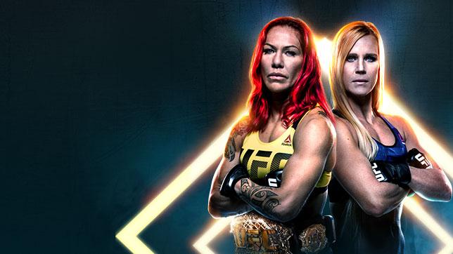 UFC 219:サイボーグ vs. ホルム