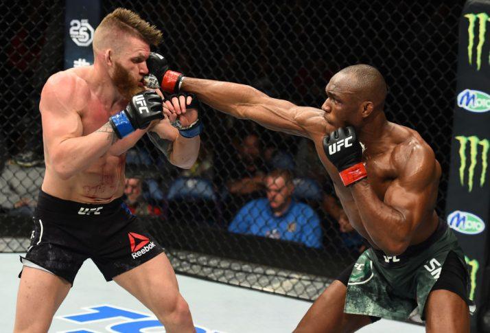 UFCファイトナイト・セントルイス:カマル・ウスマン vs. エミル・ミーク【ミズーリ州セントルイス・アメリカ/2018年1月14日(Photo by Josh Hedges/Zuffa LLC/Zuffa LLC via Getty Images)】