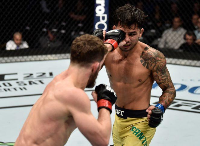 UFC 220:ダスティン・オルティス vs. アレクサンドル・パントーハ【アメリカ・マサチューセッツ州ボストン/2018年1月20日(Photo by Jeff Bottari/Zuffa LLC/Zuffa LLC via Getty Images)】