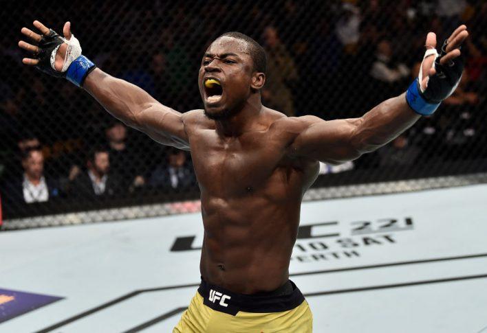 UFC 220:サバ・ホマシ vs. アブドゥル・ラザク・アルハサン【アメリカ・マサチューセッツ州ボストン/2018年1月20日(Photo by Jeff Bottari/Zuffa LLC/Zuffa LLC via Getty Images)】