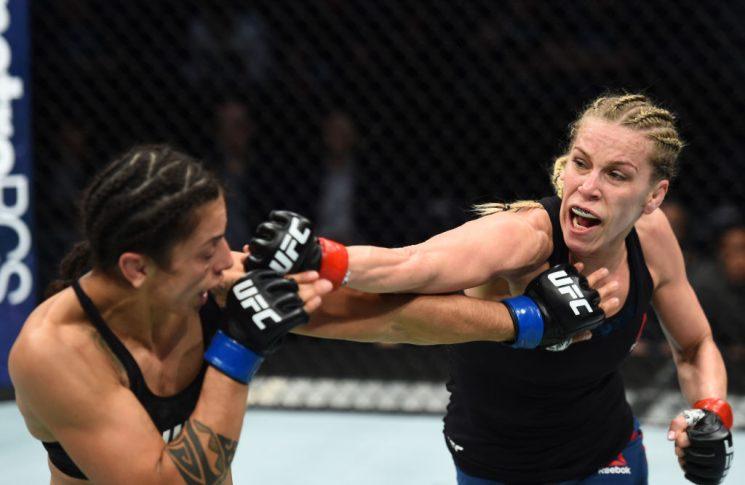 UFCファイトナイト・シャーロット:ケイトリン・チョケイジアン vs. マーラ・ロメロ・ボレラ【アメリカ・ノースカロライナ州シャーロット/2018年1月27日(Photo by Josh Hedges/Zuffa LLC/Zuffa LLC via Getty Images)】