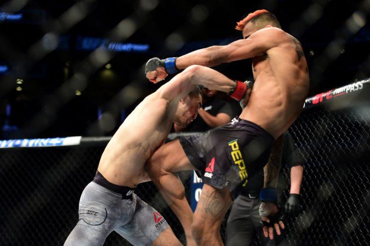 UFCファイトナイト・シャーロット:ミアサド・ベクティック vs. ゴドフレッド・ペペイ【アメリカ・ノースカロライナ州シャーロット/2018年1月27日(Photo by Jared C. Tilton /Zuffa LLC/Zuffa LLC via Getty Images)】