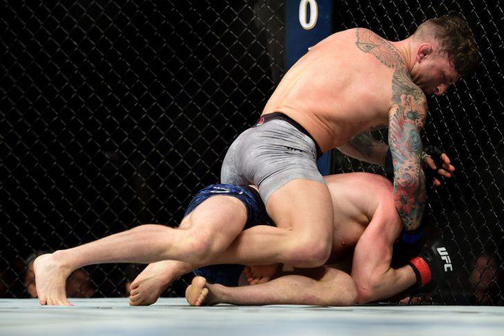 UFCファイトナイト・シャーロット:ジョーダン・リナルディ vs. グレゴール・ガレスピー【アメリカ・ノースカロライナ州シャーロット/2018年1月27日(Photo by Jared C. Tilton /Zuffa LLC/Zuffa LLC via Getty Images)】