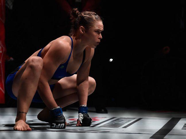 UFC 207:アマンダ・ヌネス vs. ロンダ・ラウジー【Photo by Brandon Magnus/Zuffa LLC/Zuffa LLC via Getty Images】