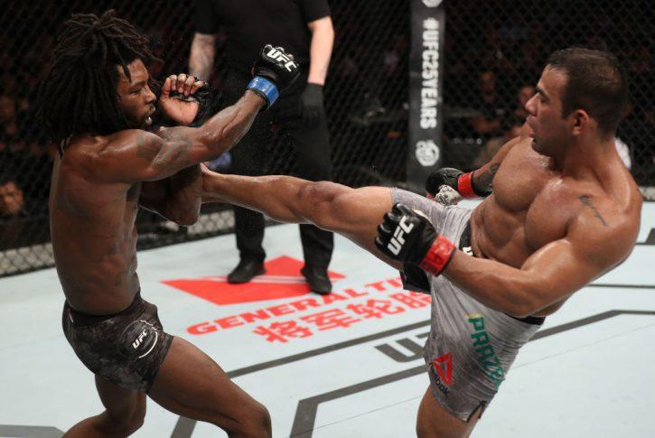 UFCファイトナイト・ベレン:ミシェル・プラゼレス vs. デスモンド・グリーン【ブラジル・ベレン/2018年2月3日(Photo by Buda Mendes/Zuffa LLC/Zuffa LLC via Getty Images)】
