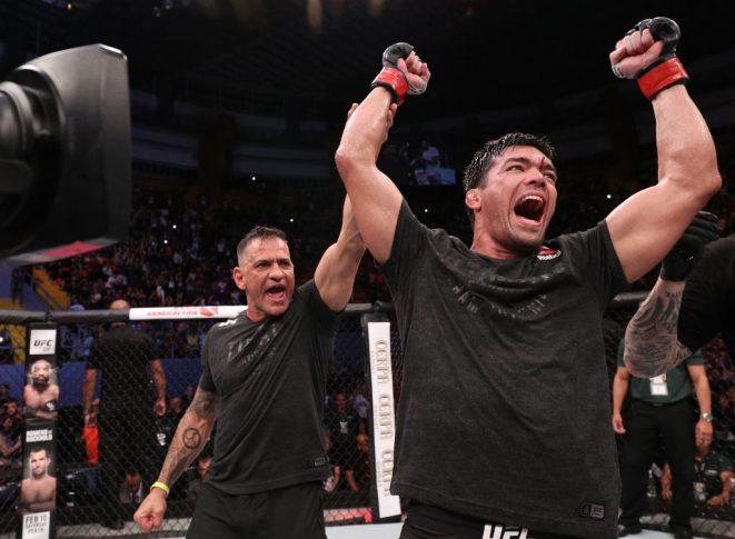 UFCファイトナイト・ベレン:リョート・マチダ vs. エリク・アンダース【ブラジル・ベレン/2018年2月3日(Photo by Buda Mendes/Zuffa LLC/Zuffa LLC via Getty Images)】