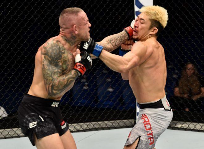 UFC 221:ロス・ピアソン vs. 廣田瑞人【オーストラリア・パース/2018年2月11日(Photo by Jeff Bottari/Zuffa LLC/Zuffa LLC via Getty Images)】