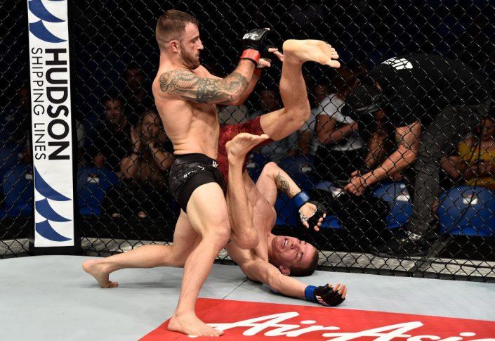 UFC 221:アレックス・ボルカノフスキー vs. ジェレミー・ケネディ【オーストラリア・パース/2018年2月11日(Photo by Jeff Bottari/Zuffa LLC/Zuffa LLC via Getty Images)】