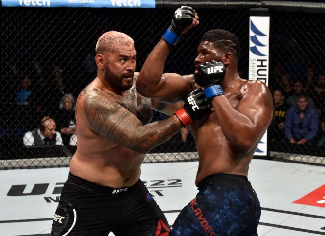 UFC 221:マーク・ハント vs. カーティス・ブレイズ【オーストラリア・パース/2018年2月11日(Photo by Jeff Bottari/Zuffa LLC/Zuffa LLC via Getty Images)】