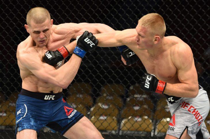 UFCファイトナイト・オースティン:オスカル・ピエホタ vs. ティム・ウィリアムズ【アメリカ・テキサス州オースティン/2018年2月18日(Photo by Josh Hedges/Zuffa LLC/Zuffa LLC via Getty Images)】