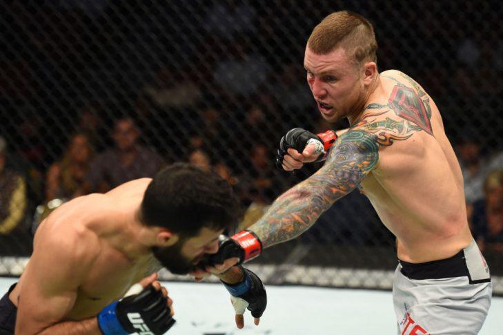 UFCファイトナイト・オースティン:スティーブン・ピーターソン vs. ブランドン・デイビス【アメリカ・テキサス州オースティン/2018年2月18日(Photo by Josh Hedges/Zuffa LLC/Zuffa LLC via Getty Images)】