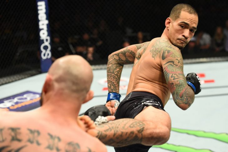 UFCファイトナイト・オースティン:ドナルド・セラーニ vs. ヤンシー・メデイロス【アメリカ・テキサス州オースティン/2018年2月18日(Photo by Josh Hedges/Zuffa LLC/Zuffa LLC via Getty Images)】