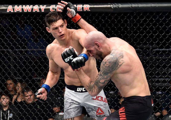 UFCファイトナイト・オーランド:ベン・サンダース vs. アラン・ジョバーン【アメリカ・フロリダ州オーランド/2018年2月24日(Photo by Jeff Bottari/Zuffa LLC/Zuffa LLC via Getty Images)】