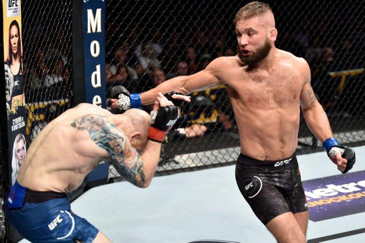 UFCファイトナイト・オーランド:ジョシュ・エメット vs. ジェレミー・スティーブンス【アメリカ・フロリダ州オーランド/2018年2月24日(Photo by Jeff Bottari/Zuffa LLC/Zuffa LLC via Getty Images)】