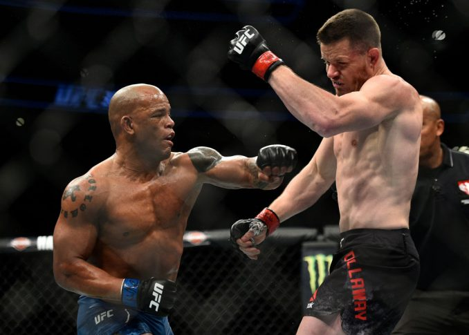 UFC 222:C.B.ダラウェイ vs. ヘクター・ロンバード【アメリカ・ネバダ州ラスベガス/2018年3月3日(Photo by Brandon Magnus/Zuffa LLC/Zuffa LLC via Getty Images)】