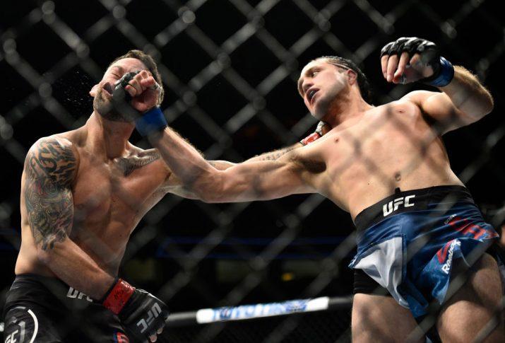 UFC 222:フランキー・エドガー vs. ブライアン・オルテガ【アメリカ・ネバダ州ラスベガス/2018年3月3日(Photo by Brandon Magnus/Zuffa LLC/Zuffa LLC via Getty Images)】