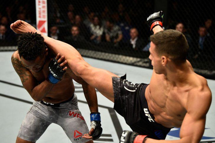 UFCファイトナイト・ロンドン:トム・デュケノア vs. テリオン・ウェア【イギリス・ロンドン/2018年3月17日(Photo by Brandon Magnus/Zuffa LLC/Zuffa LLC via Getty Images)】