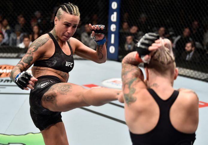 UFC 223:ベック・ローリングス vs. アシュリー・エバンス・スミス【アメリカ・ニューヨーク州ブルックリン/2018年4月7日(Photo by Jeff Bottari/Zuffa LLC/Zuffa LLC via Getty Images)】