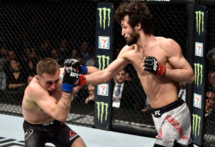 UFC 223:ザビット・マゴメドシャリポフ vs. カイル・ボフニャク【アメリカ・ニューヨーク州ブルックリン/2018年4月7日(Photo by Jeff Bottari/Zuffa LLC/Zuffa LLC via Getty Images)】