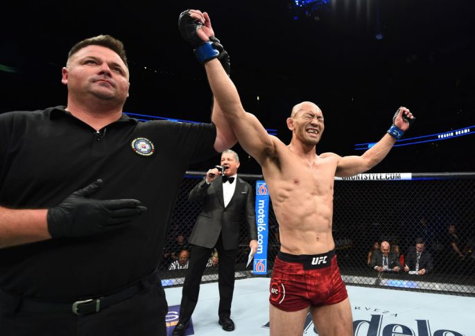 UFCファイトナイト・アリゾナ:ディエゴ・リマ vs. 岡見勇信【アメリカ・アリゾナ州グレンデール/2018年4月14日(Photo by Josh Hedges/Zuffa LLC/Zuffa LLC via Getty Images)】