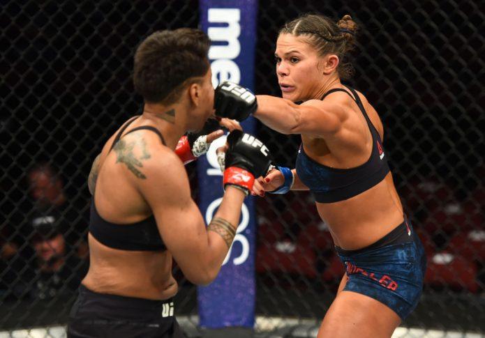 UFCファイトナイト・アリゾナ:シャナ・ドブソン vs. ローレン・ミューラー【アメリカ・アリゾナ州グレンデール/2018年4月14日(Photo by Josh Hedges/Zuffa LLC/Zuffa LLC via Getty Images)】