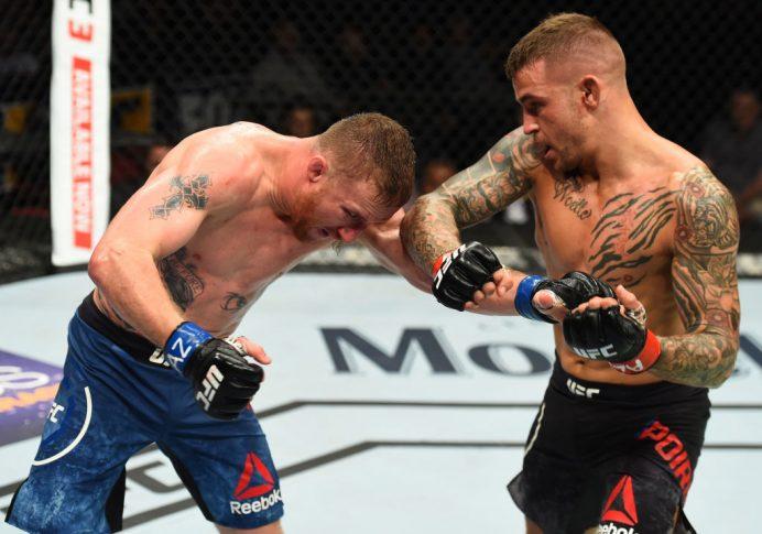 UFCファイトナイト・アリゾナ:ダスティン・ポワリエ vs. ジャスティン・ゲイジー【アメリカ・アリゾナ州グレンデール/2018年4月14日(Photo by Josh Hedges/Zuffa LLC/Zuffa LLC via Getty Images)】