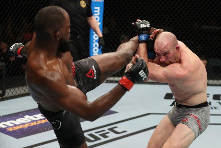 UFCファイトナイト・アトランティックシティ:コーリー・アンダーソン vs. パトリック・カミンズ【アメリカ・ニュージャージー州アトランティックシティ/2018年4月21日(Photo by Patrick Smith/Zuffa LLC/Zuffa LLC via Getty Images)】