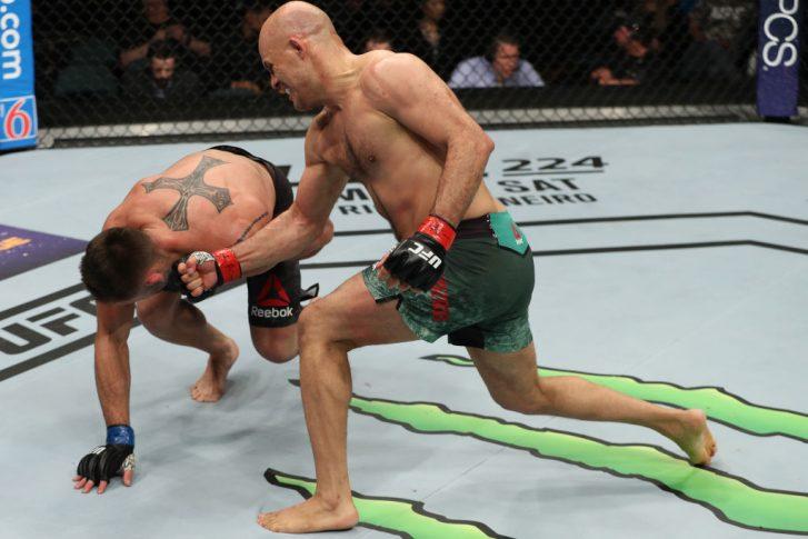 UFCファイトナイト・アトランティックシティ:シアー・バハドゥルザダ vs. ルアン・シャーガス【アメリカ・ニュージャージー州アトランティックシティ/2018年4月21日(Photo by Patrick Smith/Zuffa LLC/Zuffa LLC via Getty Images)】