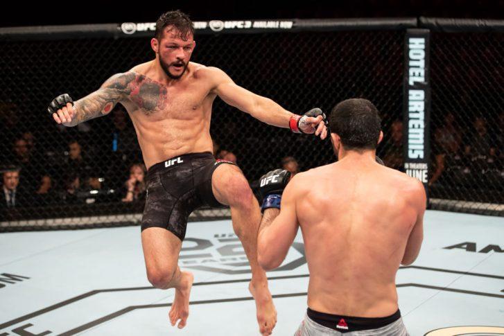 UFC 224:アルベルト・ミナ vs. ...