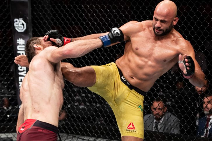 UFC 224:ワーレイ・アウヴェス vs. スルタン・アリエフ【ブラジル・リオデジャネイロ/2018年5月12日(Photo by Buda Mendes/Zuffa LLC/Zuffa LLC)】