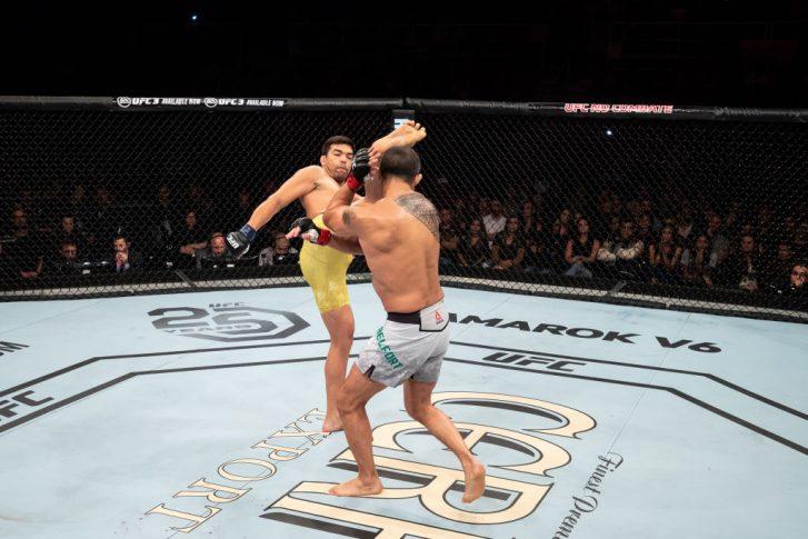 UFC 224:ビトー・ベウフォート vs. リョート・マチダ【ブラジル・リオデジャネイロ/2018年5月12日(Photo by Buda Mendes/Zuffa LLC/Zuffa LLC)】