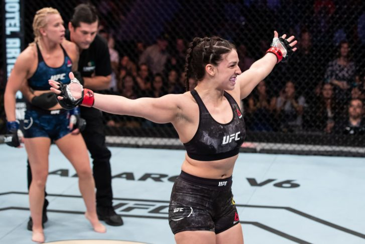 UFC 224:マッケンジー・ダーン vs. アマンダ・クーパー【ブラジル・リオデジャネイロ/2018年5月12日(Photo by Buda Mendes/Zuffa LLC/Zuffa LLC)】