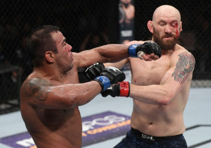 UFCファイトナイト・チリ:ザック・カミングス vs. ミシェル・プラゼレス【チリ・サンティアゴ/2018年5月19日(Photo by Buda Mendes/Zuffa LLC/Zuffa LLC via Getty Images)】
