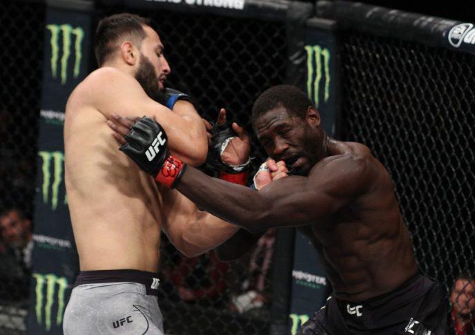 UFCファイトナイト・チリ:ジャレッド・キャノニア vs. ドミニク・レイエス【チリ・サンティアゴ/2018年5月19日(Photo by Buda Mendes/Zuffa LLC/Zuffa LLC)】