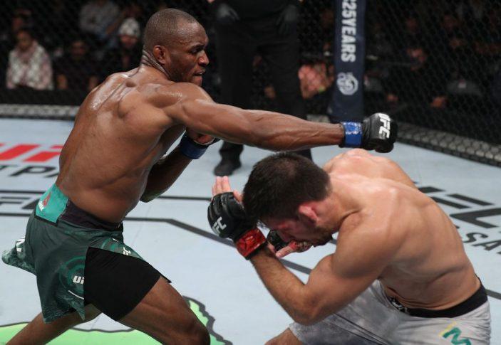 UFCファイトナイト・チリ:デミアン・マイア vs. カマル・ウスマン【チリ・サンティアゴ/2018年5月19日(Photo by Buda Mendes/Zuffa LLC/Zuffa LLC)】