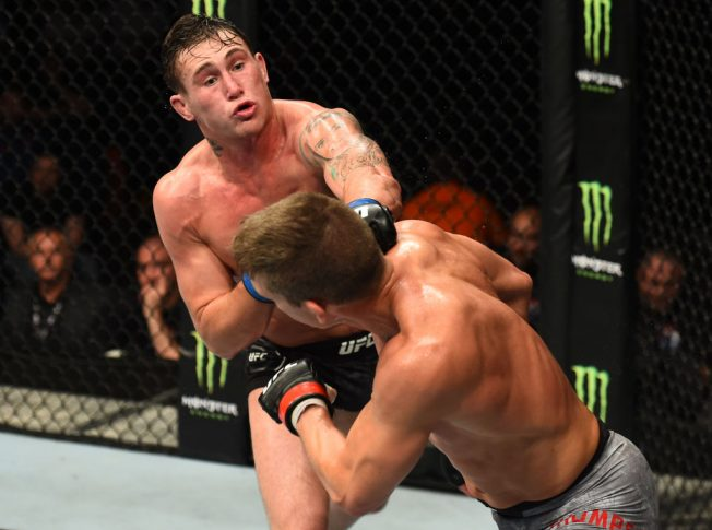 UFCファイトナイト・リバプール:スティーブン・トンプソン vs. ダレン・ティル【イギリス・リバプール/2018年5月27日(Photo by Josh Hedges/Zuffa LLC/Zuffa LLC via Getty Images)】