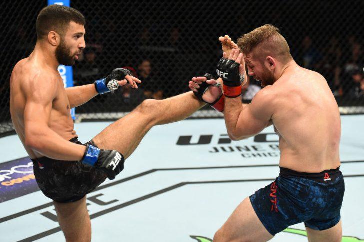 UFCファイトナイト・ユーティカ:ニック・レンツ vs. ダビッド・テイムル【アメリカ・ニューヨーク州ユーティカ/2018年6月1日(Photo by Josh Hedges/Zuffa LLC/Zuffa LLC via Getty Images)】