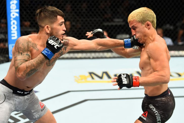 UFC 225:ジョセフ・ベナビデス vs. セルジオ・ペティス【アメリカ・イリノイ州シカゴ/2018年6月9日(Photo by Josh Hedges/Zuffa LLC/Zuffa LLC via Getty Images)】