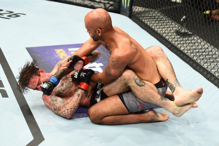 UFC 225:CMパンク vs. マイク・ジャクソン【アメリカ・イリノイ州シカゴ/2018年6月9日(Photo by Josh Hedges/Zuffa LLC/Zuffa LLC via Getty Images)】
