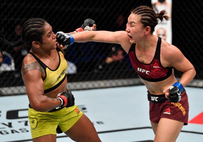 UFCファイトナイト・シンガポール:ビビアン・ペレイラ vs. ヤン・シャオナン【シンガポール・シンガポール/2018年6月23日(Photo by Jeff Bottari/Zuffa LLC/Zuffa LLC via Getty Images)】